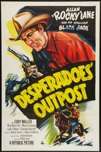 "Desperadoes' Outpost (Republic, 1952). One Sheet (27"" X 41""). Western"