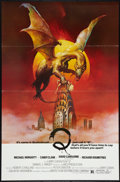 "Movie Posters:Horror, Q (United Film Distribution, 1982). One Sheet (27"" X 41""). Flat Folded. Horror.. ..."