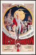 "Movie Posters:Sexploitation, Flesh Gordon (Mammoth Films, 1974). One Sheet (27"" X 41""). Sexploitation.. ..."