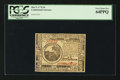 Colonial Notes:Continental Congress Issues, Continental Currency May 9, 1776 $6 PCGS Very Choice New 64PPQ.....