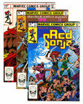 Modern Age (1980-Present):Miscellaneous, Comic Books - Mixed Modern Age Long Box Group (Various Publishers, 1982-88) Condition: Average VF+....