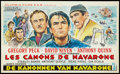 "Movie Posters:Adventure, The Guns of Navarone (Columbia, 1961). Belgian (14"" X 22"").Adventure.. ..."
