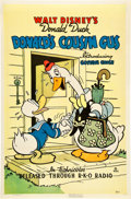 "Movie Posters:Animation, Donald's Cousin Gus (RKO, 1939). One Sheet (27"" X 41"").. ..."