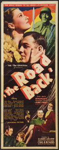 "Movie Posters:War, The Road Back (Universal, 1939). Insert (14"" X 36""). War.. ..."