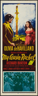 "My Cousin Rachel (20th Century Fox, 1952). Insert (14"" X 36""). Mystery"