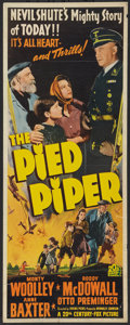 "Movie Posters:Drama, The Pied Piper (20th Century Fox, 1942). Insert (14"" X 36""). Drama.. ..."