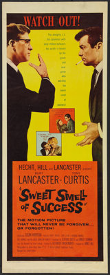 "Sweet Smell of Success (United Artists, 1957). Insert (14"" X 36""). Drama"
