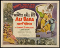 "Movie Posters:Fantasy, Ali Baba and the Forty Thieves (Realart, R-1948). Half Sheet (22"" X 28""). Fantasy.. ..."