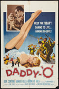 "Movie Posters:Crime, Daddy-""O"" (American International, 1959). One Sheet (27"" X 41"").Crime.. ..."