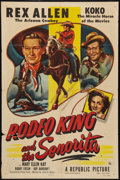 """Movie Posters:Western, Rodeo King and the Senorita (Republic, 1951). One Sheet (27"""" X 41""""). Western.. ..."""