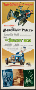 "Movie Posters:Comedy, The Shaggy Dog (Buena Vista, R-1967). Insert (14"" X 36""). Comedy.. ..."