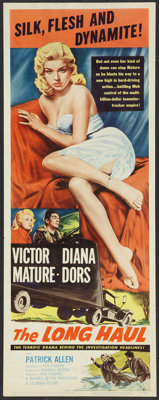 "The Long Haul (Columbia, 1957). Insert (14"" X 36""). Drama"