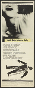 "Movie Posters:Drama, Anatomy of a Murder (Columbia, 1959). Insert (14"" X 36""). Drama.. ..."