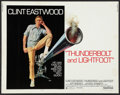 "Movie Posters:Crime, Thunderbolt and Lightfoot (United Artists, 1974). Half Sheet (22"" X 28""). Style C. Crime.. ..."