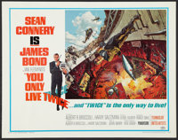 "You Only Live Twice (United Artists, 1967). Half Sheet (22"" X 28""). James Bond"