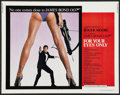 "Movie Posters:James Bond, For Your Eyes Only (United Artists, 1981). Half Sheet (22"" X 28""). James Bond.. ..."