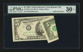 Error Notes:Foldovers, Fr. 1978-J $5 1985 Federal Reserve Note. PMG Very Fine 30 EPQ.. ...