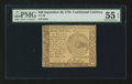 Colonial Notes:Continental Congress Issues, Continental Currency September 26, 1778 $60 PMG About Uncirculated55 EPQ.. ...