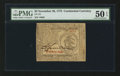 Colonial Notes:Continental Congress Issues, Continental Currency November 29, 1775 $3 PMG About Uncirculated 50EPQ.. ...