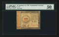 Colonial Notes:Continental Congress Issues, Continental Currency January 14, 1779 $1 PMG About Uncirculated50.. ...