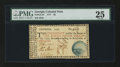 Colonial Notes:Georgia, Georgia 1777 $5 PMG Very Fine 25.. ...