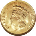Three Dollar Gold Pieces, 1888 $3 MS66 NGC....