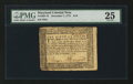 Colonial Notes:Maryland, Maryland December 7, 1775 $1/9 PMG Very Fine 25.. ...