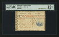 Colonial Notes:Georgia, Georgia 1776 $2 PMG Fine 12 Net.. ...