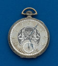 Timepieces:Pocket (post 1900), Illinois 19 Jewel Abe Lincoln. ...
