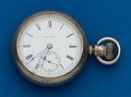 Timepieces:Pocket (post 1900), Hampden Coin 18 Size Private Label. ...