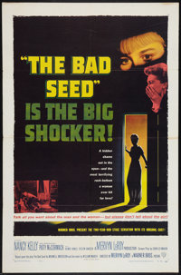 "The Bad Seed (Warner Brothers, 1956). One Sheet (27"" X 41""). Thriller"