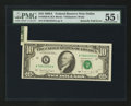 Error Notes:Attached Tabs, Fr. 2028-K $10 1988A Federal Reserve Note. PMG About Uncirculated55 EPQ.. ...