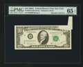 Error Notes:Attached Tabs, Fr. 2028-B $10 1988A Federal Reserve Note. PMG Gem Uncirculated 65EPQ.. ...