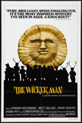 "Movie Posters:Horror, The Wicker Man (Abraxas, R-1980). One Sheet (27"" X 41""). Horror.. ..."
