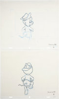 animation art:Production Drawing, The Pogo Special Birthday Special Animation ProductionDrawing Original Art Group (Chuck Jones Productions, 1969)....(Total: 4 Items)