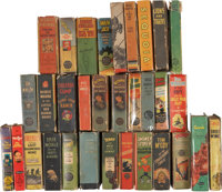 Big Little Book Platinum to Silver Age Group (Whitman and others, 1933-69) Condition: Average VG.... (Total: 32 Items)