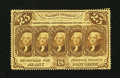 Fractional Currency:First Issue, Fr. 1280 25¢ First Issue Extremely Fine-About New.. ...