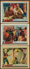 """Movie Posters:Western, The Lone Ranger and the Lost City of Gold (United Artists, 1958). Lobby Cards (3) (11"""" X 14""""). Western.. ... (Total: 3 Items)"""
