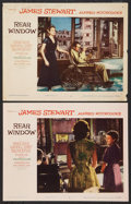"Movie Posters:Hitchcock, Rear Window (Paramount, 1954). Lobby Cards (2) (11"" X 14""). Hitchcock.. ... (Total: 2 Items)"