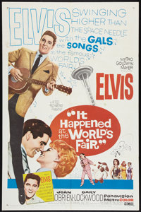 """It Happened at the World's Fair (MGM, 1963). One Sheet (27"""" X 41""""). Elvis Presley"""