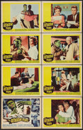"Movie Posters:Horror, The Alligator People (20th Century Fox, 1959). Lobby Card Set of 8 (11"" X 14""). Horror.. ... (Total: 8 Items)"