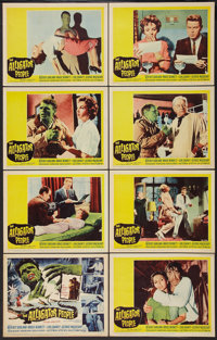 """The Alligator People (20th Century Fox, 1959). Lobby Card Set of 8 (11"""" X 14""""). Horror. ... (Total: 8 Items)"""