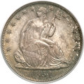 Seated Half Dollars, 1851-O 50C MS65 PCGS. CAC....