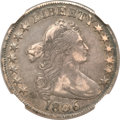 Early Half Dollars, 1806 50C 6 Over Inverted 6 XF45 NGC. O-112, R.4. ...