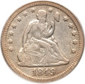Seated Quarters, 1849-O 25C VF25 PCGS....