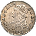 Bust Half Dollars, 1823 50C Patched 3 AU58 PCGS. O-101a, R.1....