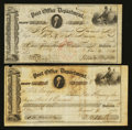 Miscellaneous:Other, Post Office Drafts For Transportation of the Mails. Two Examples..... (Total: 2 items)