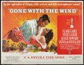 "Movie Posters:Academy Award Winners, Gone with the Wind (MGM, R-1967). New York Subway (44.5"" X 54.25"").Academy Award Winners.. ..."
