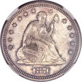 Seated Quarters, 1876 25C MS66 NGC....