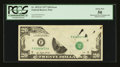 Error Notes:Obstruction Errors, Fr. 2072-F $20 1977 Federal Reserve Note. PCGS About New 50.. ...